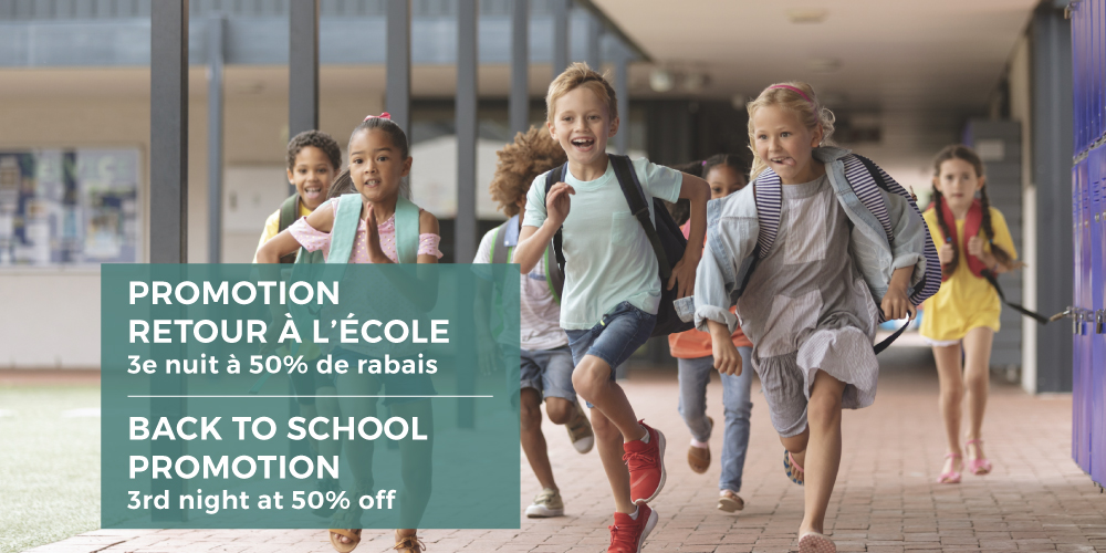 Promotion: Back to school